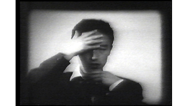 Nam June Paik, Hand and Face, 1961, Video Archives Still Cut, Nam June Paik Art Center Video Archives Collection.