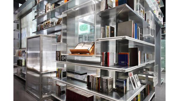 Nam June Paik Art Center's library 02